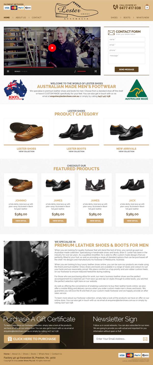 Lester Shoes