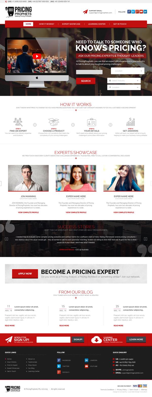 Pricing Prophet